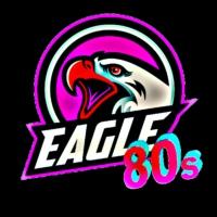 Logo of radio station 80s Eagle