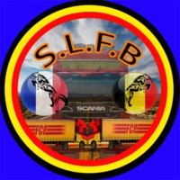 Logo of radio station S.L.F.B