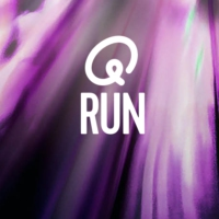 Logo of radio station Q-Run