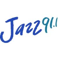 Logo of radio station KCSM Jazz 91.1 FM