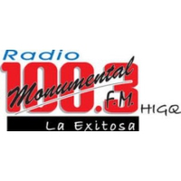 Logo of radio station Monumental 100.3 FM