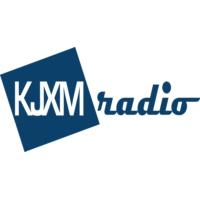 Logo of radio station KJXM Radio