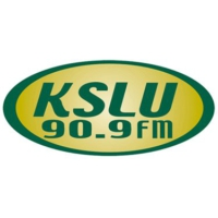 Logo of radio station KSLU 90.9 FM