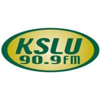 Logo of radio station KSLU 90.9 FM