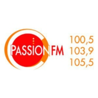 Logo of radio station CFIN-FM Passion FM