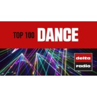 Logo de la radio delta radio - TOP 100 DANCE