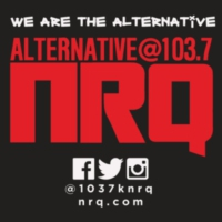 Logo of radio station Alternative 103.7 KNRQ