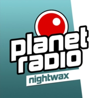 Logo of radio station planet radio - nightwax