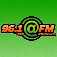 Logo de la radio XHZAR @FM 96.1