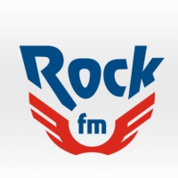 Logo of radio station RockFM