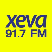 Logo of radio station XEVA 91.7 FM