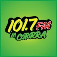 Logo of radio station XHVIR La Cotorra 101.7 FM