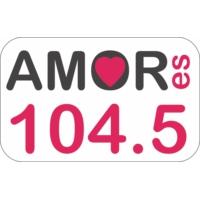 Logo of radio station XHDC Amor es 104.5 FM