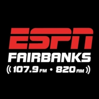Logo of radio station KCBF ESPN Radio