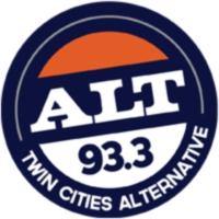 Logo of radio station ALT 93.3