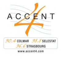 Logo of radio station Accent 4