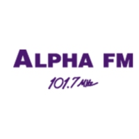 Logo of radio station Alpha FM 101.7