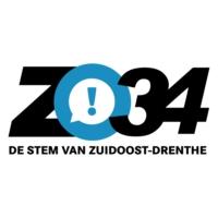 Logo of radio station ZO!34