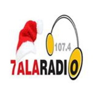 Logo of radio station 7ala Radio 107.4 FM