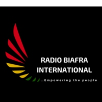 Logo of radio station Radio Biafra International