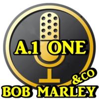 Logo of radio station A.1.ONE BOB MARLEY & CO