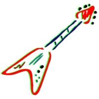 Logo of radio station Lovica FM