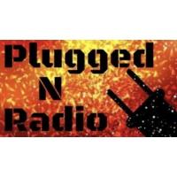 Logo of radio station PluggedNRadio