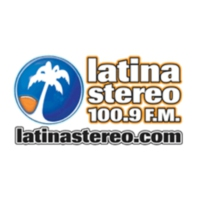 Logo of radio station Latina Stereo