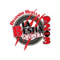 Logo of radio station XHMMF La Bestia Grupera 92.3