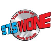 Logo of radio station WONE 97.5 FM