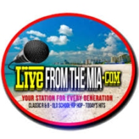Logo of radio station Live from the Mia