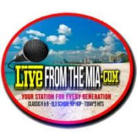 Logo de la radio Live from the Mia