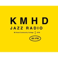 Logo of radio station KMHD Jazz Radio