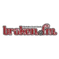 Logo of radio station KORB Broken 107.9
