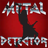 Logo of radio station SomaFM - Metal Detector