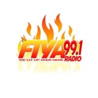 Logo of radio station FIYA 99.1 Radio