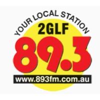 Logo de la radio 2GLF 89.3FM