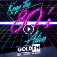 Logo of radio station GOLD FM   * 80's  *