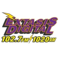 Logo of radio station XHPR Éxtasis Digital 102.7 FM