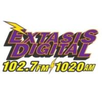 Logo de la radio XHPR Éxtasis Digital 102.7 FM