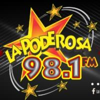 Logo de la radio XHWX La Poderosa 98.1 FM