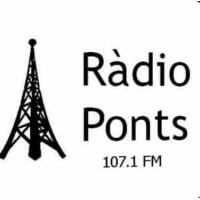 Logo of radio station Ràdio Ponts