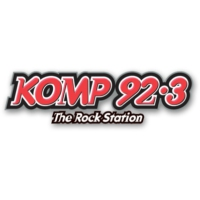 Logo of radio station KOMP 92.3FM
