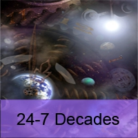 Logo of radio station 24-7 Decades (The Number Ones From Six Decades)