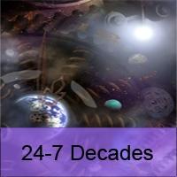 Logo de la radio 24-7 Decades (The Number Ones From Six Decades)