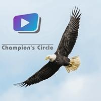 Logo de la radio Champion's Circle Radio