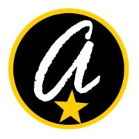 Logo of radio station antena tropical latina