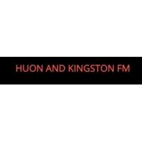 Logo of radio station Huon and Kingston FM