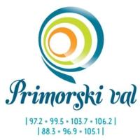 Logo de la radio Primorski val