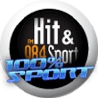 Logo de la radio Hit et sport : 100% Sport